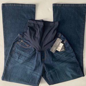 Motherhood maternity bootcut petite jeans Sz PXL